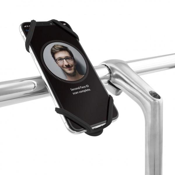 Bone Bike Tie 2 Black Handlebar Phone Holder
