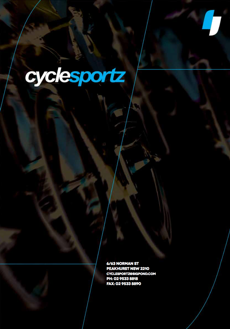 Cyclesportz latest catalogue